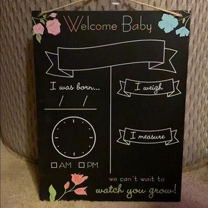Other - WELCOME BABY 🍼 SIGN 🤰🏻🤰🏼🤱🧸🎈